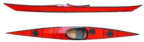 Point Bennett hard chine kayak