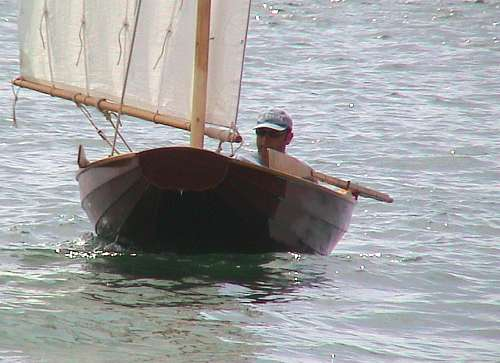 Laïta praam dinghy designed by François Vivier