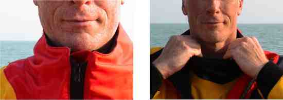 Drysuit collar
