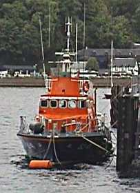 Tobermory lifeboat
