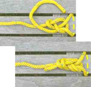 Re-thread figure 8 knot