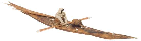 Model Of Greenland Kayak