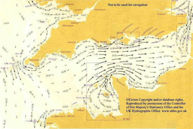 low res page from tidal stream atlas - Tide Flow Chart