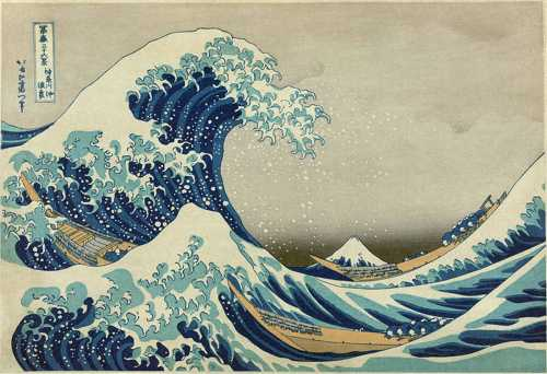 Hokusai's The Wave