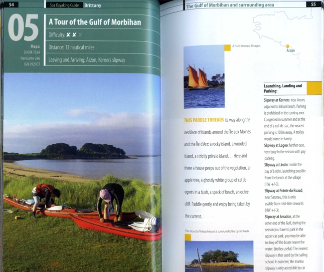 Sea kayaking guide Brittany : 60 paddles