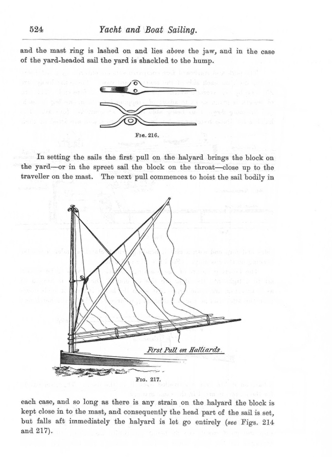 "Dixon Kemp ""Manual of Yacht and Boat Sailing"" 1895 p524"