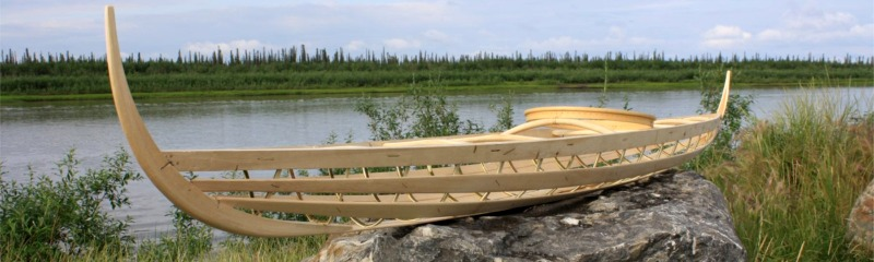 Inuvialuit kayak from Nomad Boatbuilding